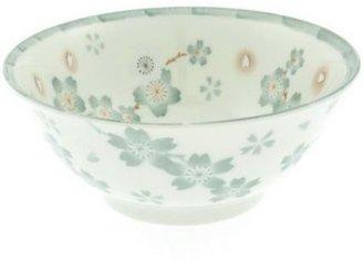 Sur La Table Kotobuki Green Lang Flower Noodle Bowl