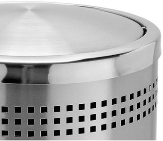 Commercial Zone Precision Series Trash Can with Imprinted 360u00b0 Swivel Door