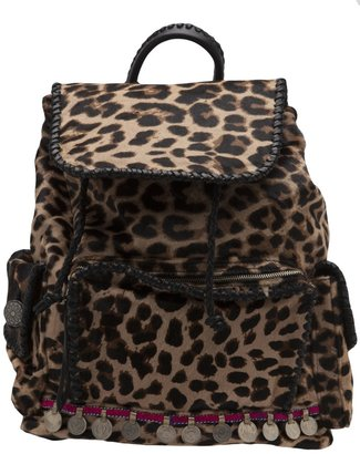 Simone Camille calfhair backpack