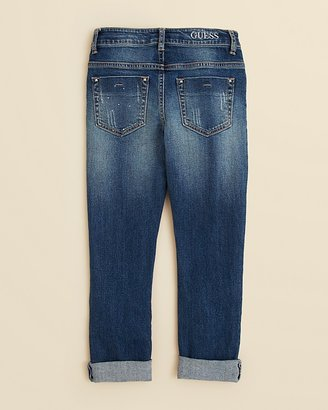 GUESS Girls' Destroyed Jeans - Sizes 7-16