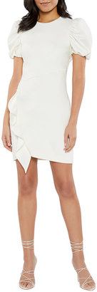 LIKELY Malta Ruffle-Trim Bodycon Dress