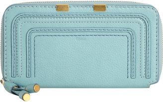 Chloé Marcie Long Zip Around Wallet