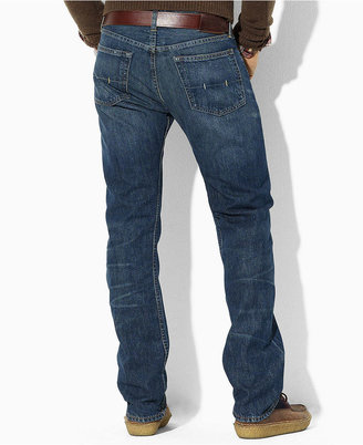 Polo Ralph Lauren Big and Tall Jeans, Classic Fit Light Wash