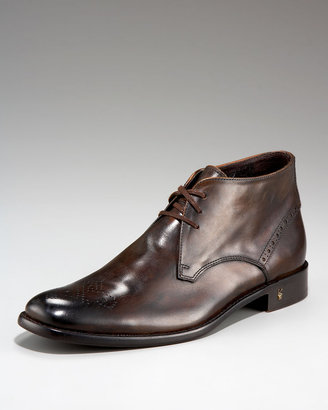 John Varvatos Wing-Tip Dress Chukka