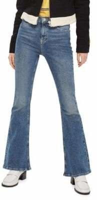 Topshop MOTO Flared Jamie Jeans 30-Inch Leg