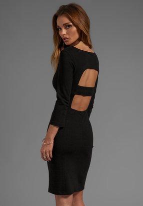 Catherine Malandrino Afra Cut Out Long Sleeve Ponte Dress