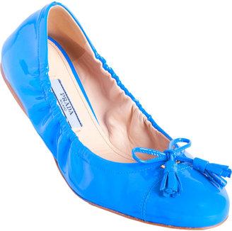 Prada Tassle Bow Ballet