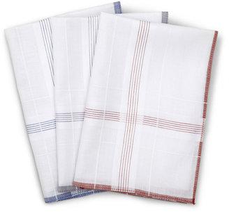 JCPenney Stafford 3-pc. Stripe Handkerchief Set