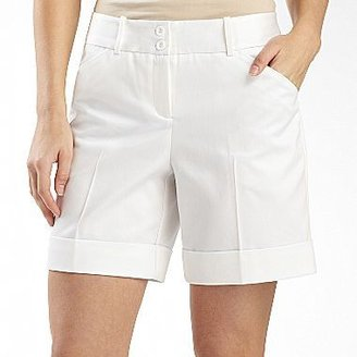 JCPenney Worthington® Cuffed Sateen Shorts