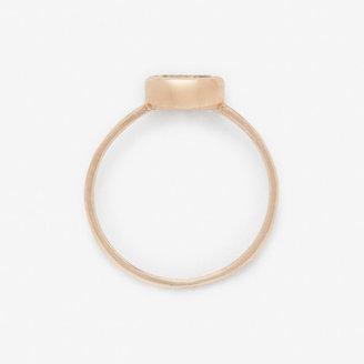 Steven Alan BLANCA MONROS GOMEZ oval bezel ring