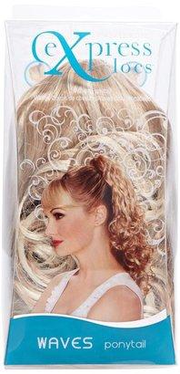 ExpressLocs Ponytail Clip-in Waves Hairpiece Dark Blonde $24.99 thestylecure.com