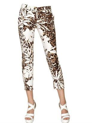 Blumarine Printed Light Cotton Trousers
