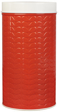 Orla Kiely Canister Raised Red