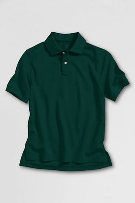 Lands' End Toddler Short Sleeve Solid Performance Mesh Polo Shirt