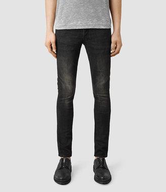 AllSaints Print Cigarette Jeans
