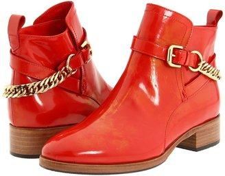 McQ by Alexander McQueen Paddock Boot (Blood Red) - Footwear