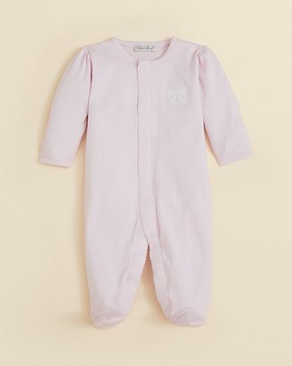 Kissy Kissy Girls' Pique Footie - Sizes 0-9 Months