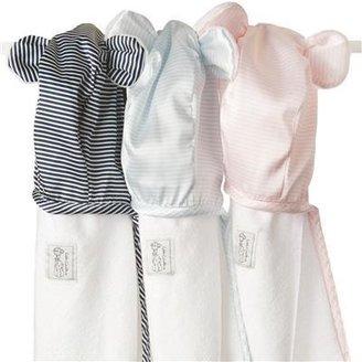 Little Giraffe Chenille Mini Stripe Satin Towel