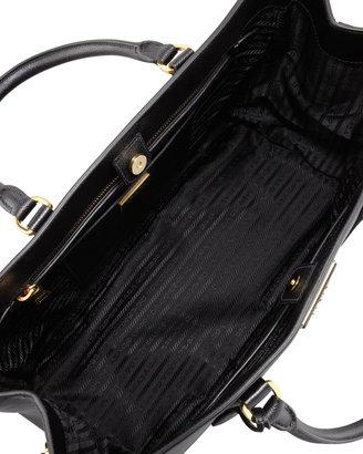 Prada Saffiano Gardener's Tote Bag, Black (Nero)