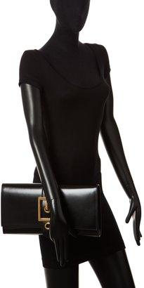 Gucci Lady Buckle Leather Clutch