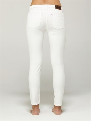 Quiksilver Tama Crop Bright White Jeans