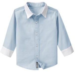 Janie and Jack French Collar Shirt