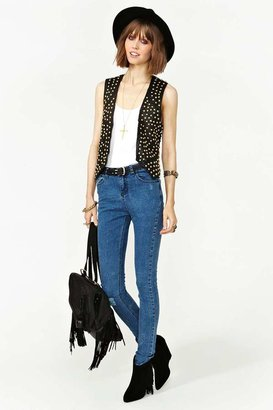 Nasty Gal One Teaspoon Runaway Stud Vest