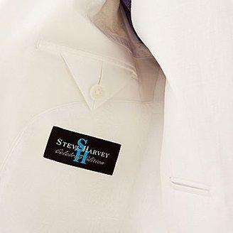 JCPenney Steve Harvey® White Linen-Look Suit Jacket