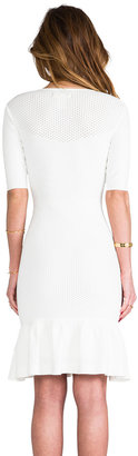 Catherine Malandrino Claire Zip Front Dress