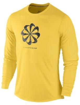 Nike LIVESTRONG Pinwheel Graphic Men's Running Shirt