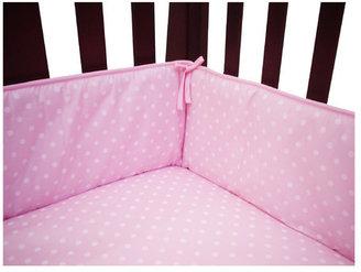 American Baby Company Percale Polka Dot Crib Bumper