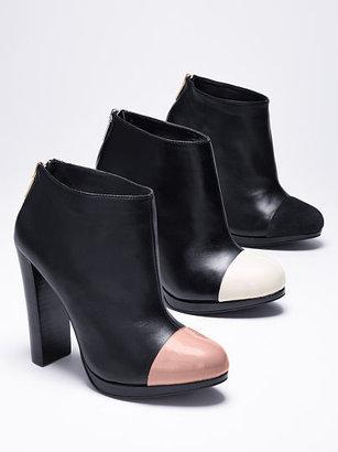Victoria's Secret Collection Cap-toe Bootie
