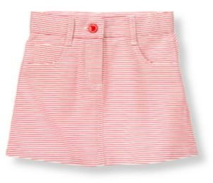 Janie and Jack Striped Canvas Skirt