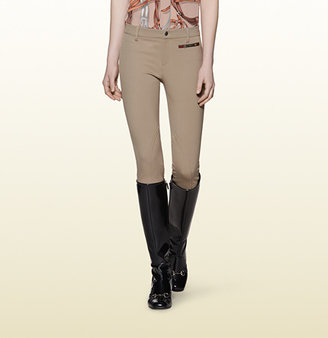 Gucci Beige Riding Pant From Equestrian Collection