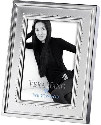"Vera Wang Wedgwood Grosgrain 4"" x 6"" Frame"