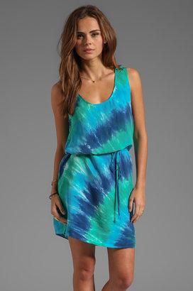 C&C California Bemberg Circle Tie Dye Tank Dress