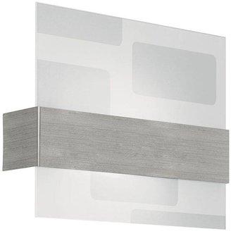 Nikita Eglo 1-Light Wall Matte Nickel and Clear Light