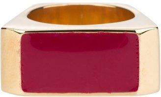 Saint Laurent colour block ring