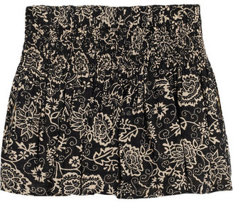 Etoile Isabel Marant Salome printed cotton shorts
