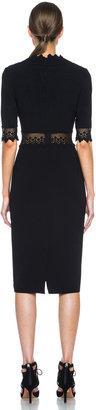 Altuzarra Greco Triacetate-Blend Dress in Black