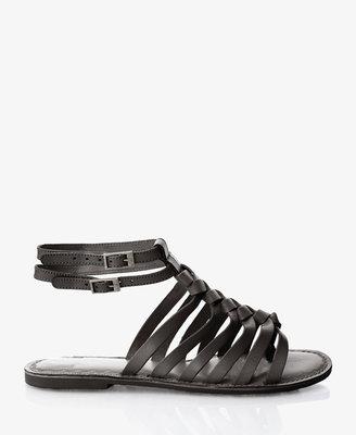 Forever 21 Leather Gladiator Sandals