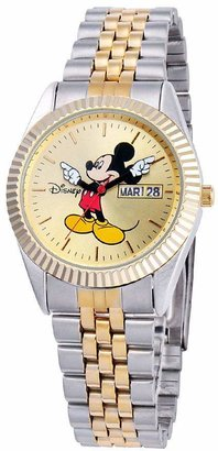 Disney Men's Mickey Two-Tone Watch