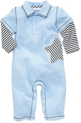 First Impressions Baby Boys' Polo Coverall