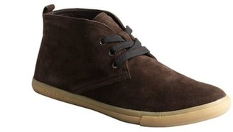 Prada Sport brown suede lace up ankle boots
