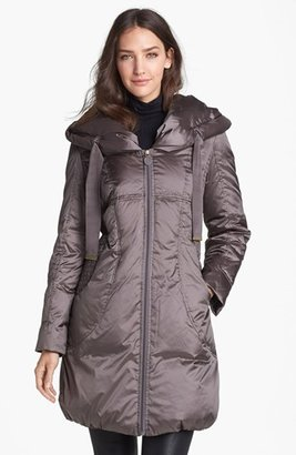 T Tahari 'Taryn' Pillow Hood Down Coat (Nordstrom Exclusive)