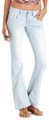 Charlotte Russe Dollhouse Destroyed Flare Jean