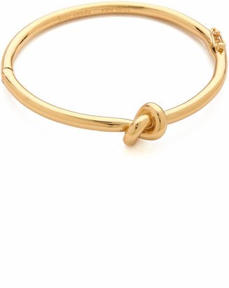 Kate Spade New York Sailor's Knot Bangle Bracelet $78 thestylecure.com