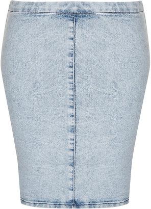 Topshop Tall MOTO Joni Bodycon Skirt