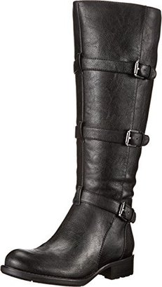 Franco Sarto Women's L Petite Wide Calf Motorcycle Boot $169 thestylecure.com