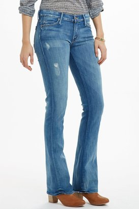 Anthropologie Mother Runaway Skinny Flare Jeans